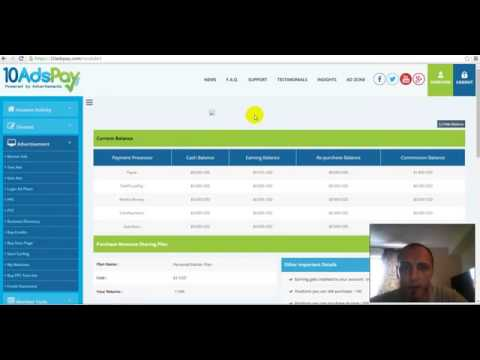 10 Ads Pay Review   MUST WATCH, MAKE MONEY EASY
