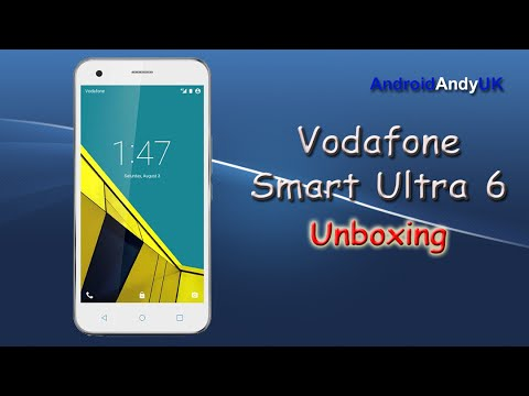 Vodafone Smart Ultra 6 Unboxing and First Look