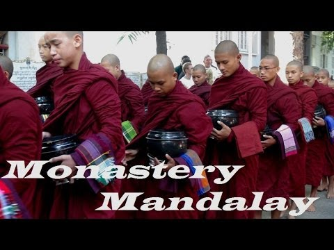 Myanmar Mandalay  Monastry Part 15