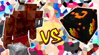 MINOTAUR VS. LUCKY BLOCK FIRE (MINECRAFT LUCKY BLOCK CHALLENGE)