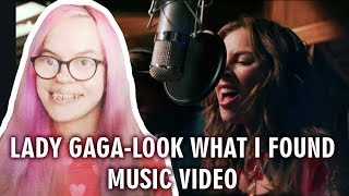 LADY GAGA - LOOK WHAT I FOUND (MUSIC VIDEO REACTION) | Sisley Reacts