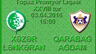 Khazar Lenkoran vs Karabakh full match