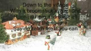 Frosty the snowman with lyrics