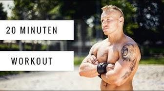 20 Minuten Workout zum Mitmachen | 10 Wiederholungen | Daheim trainieren | Ganzkörpertraining