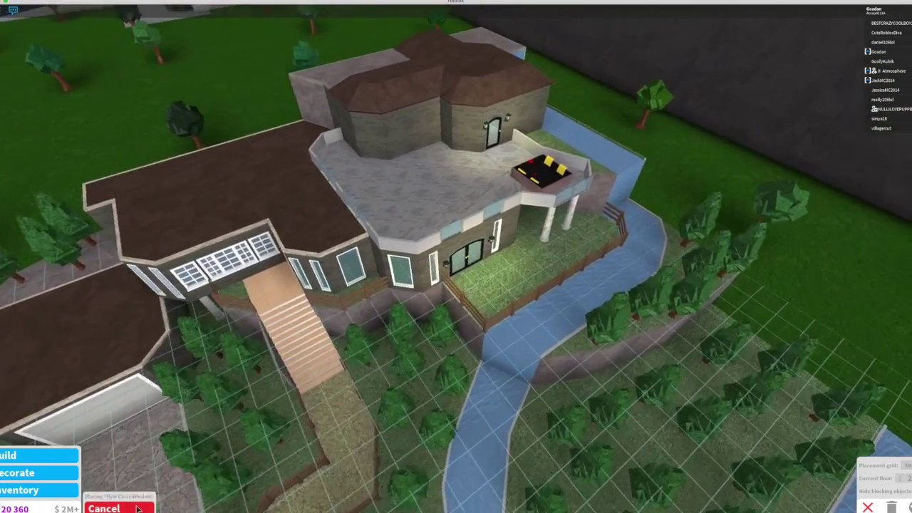 Bloxburg ranch house 2 youtube for Kitchen designs bloxburg