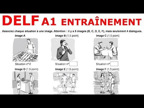 DELF A1. EXEMPLE D'EXAMEN