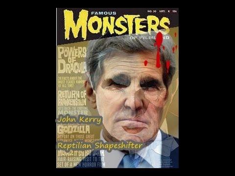 John Kerry ~ Shapeshifting Reptilian