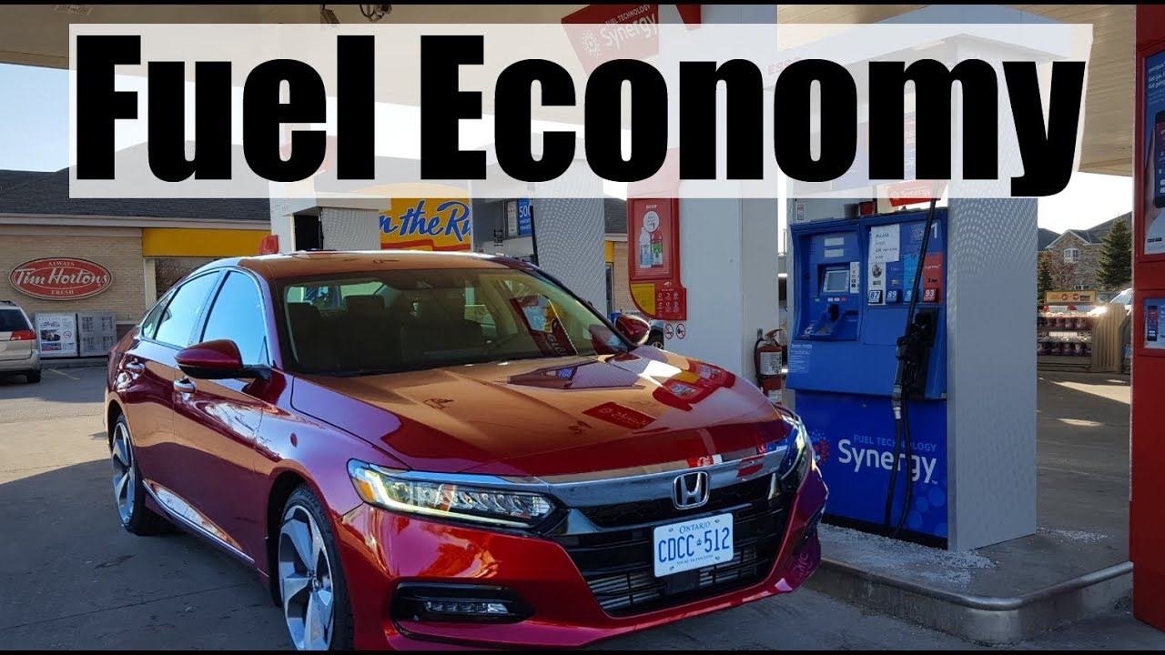 2018 Honda Accord   Fuel Economy MPG Review + Fill Up Costs