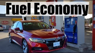 2019 Honda Accord - Fuel Economy MPG Review + Fill Up Costs