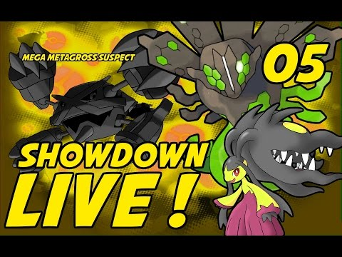 Baby chimp puts em on a timer: Mega Metagross Suspect Test Part 5 Showdown Live!