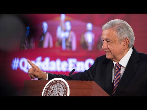 Mexicanos atienden el llamado #QuédateEnCasa. Conferencia presidente AMLO