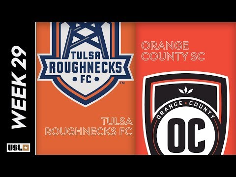 Tulsa Roughnecks FC vs. Orange County SC: September 21, 2019
