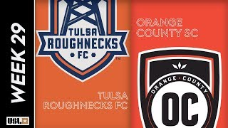 Tulsa Roughnecks FC Vs. Orange County SC September 21 2019