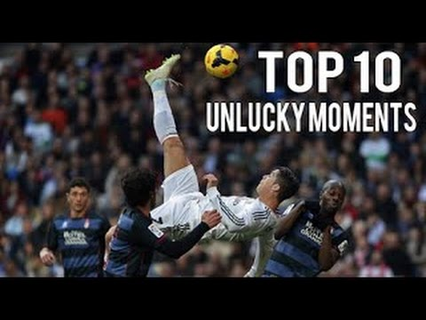 Cristiano Ronaldo TOP 10 Unlucky Moments 2009 2015 HD ...