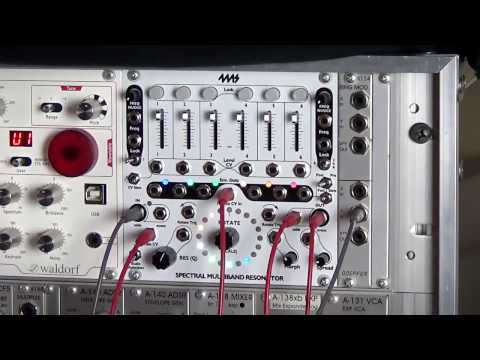 4ms Spectral Multiband Resonator in Indian Pentatonic scale