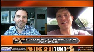 UFC 217's Stephen Thompson talks Jorge Masvidal matchup and wants Robbie Lawler next