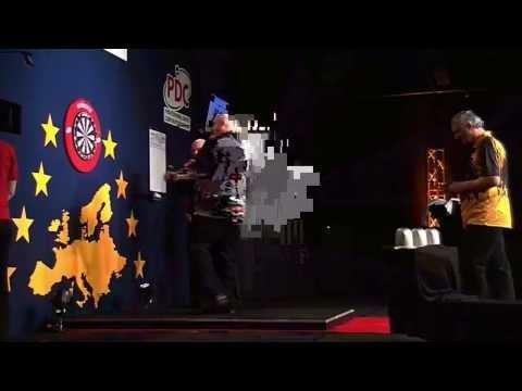 Dutch Darts Masters 2014 First Round Kevin Thomas v Wayne Jones