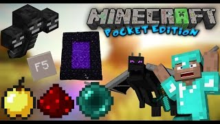 ‹ Minecraft Pe › Mod Pack // Authentic Pc • Nether , The End , Wither Boss , Sprint ...