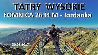 TATRY WYSOKIE - omnica 2634 M  Jordanka  30082017