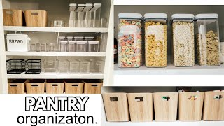 PANTRY ORGANIZATION | HOW TO ORGANIZE YOUR PANTRY