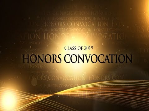 Mount Clemens High School 2019 Honors Convocation