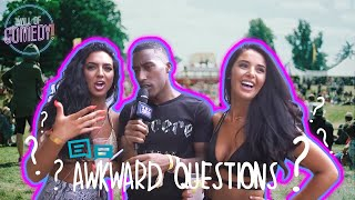 Asking Awkward Questions | At Wireless Festival With Yung Filly
