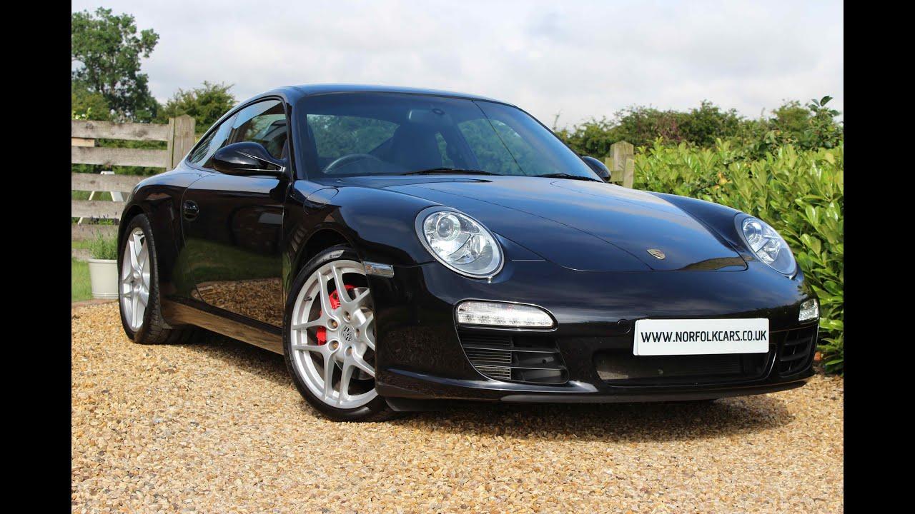 2011 Porsche 911 997 Carrera S PDK Black