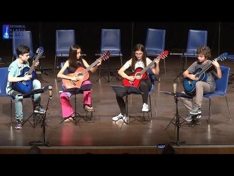 Serhan Kelleözü - Akdeniz Akşamları - Guitar Quartet