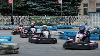 """Karting - first attempt. Картинг - первый опыт (Харьков, клуб """"Пионер"""")"""
