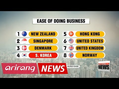 Korea has world's fourth-best business environment: World Bank