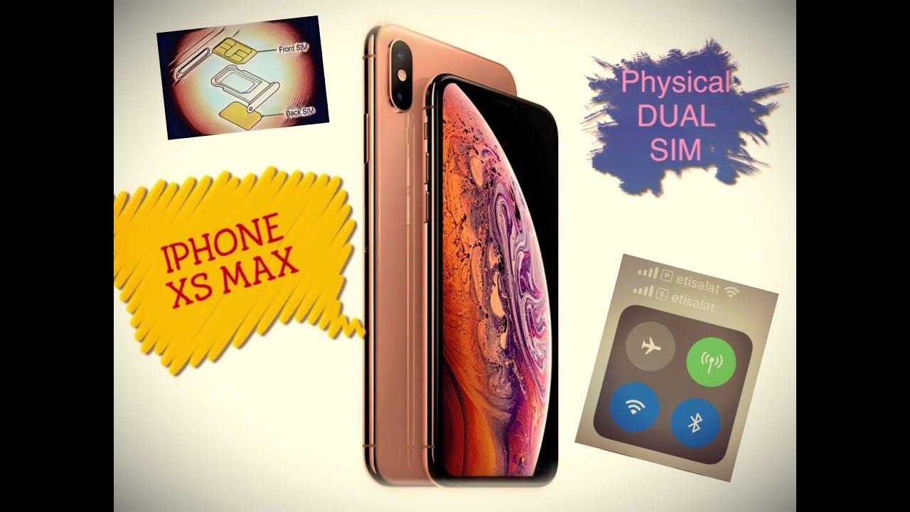 Dual Physical Sim - IPHONE XS Max