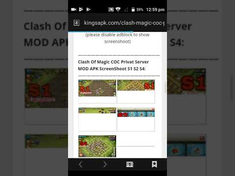 Easy Way To Download Clash Of Clans Server 2 Apk