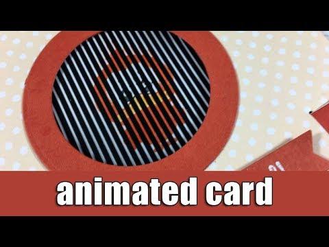Animated card   Motion Crafts blog hop - Giveaway