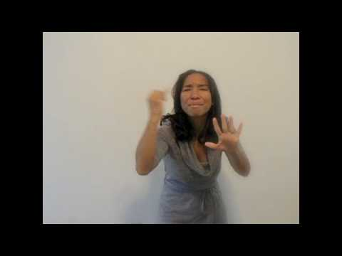 "Alicia Keys ""Unthinkable"" (ASL)"