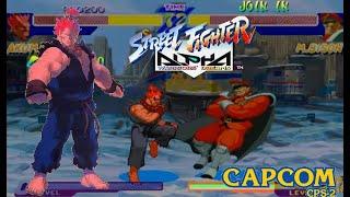 Street Fighter Alpha:Warriors' Dreams Expert Difficulty Akuma( Gouki) no lose Playthrough
