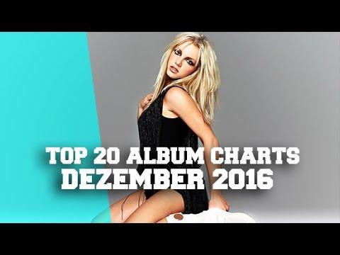 TOP 20 ALBUM CHARTS - DEZEMBER 2016