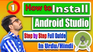 How to Install Android Studio in Urdu/Hindi | Step by Step  ✔