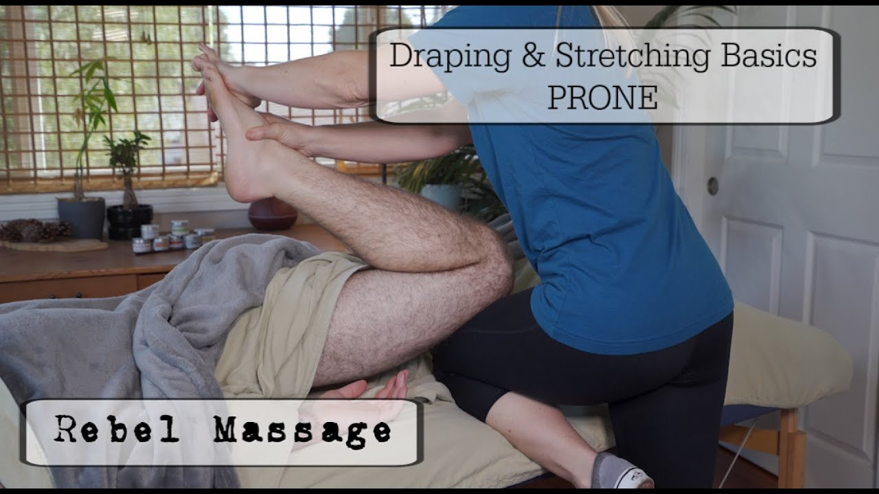 Draping and Stretching PRONE!