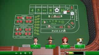 Craps 3 | 9 26 18 | Hoyle Casino Collection