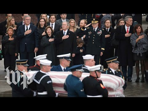 George H.W. Bush laid to rest in College Station, Texas