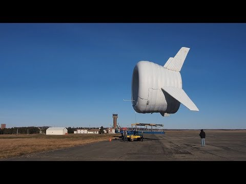 This is the World's First Airborne Wind Turbine