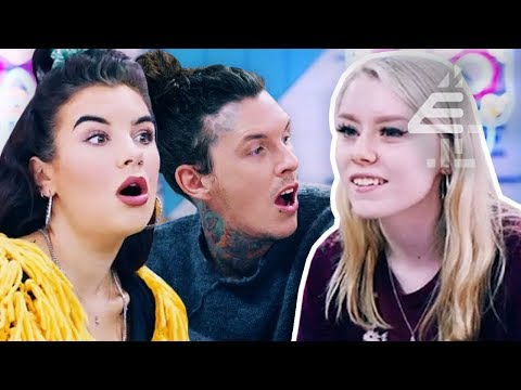 She Tattooed Herself With Sewing Needle & Permanent Pen Ink At 14 | Tattoo Fixers