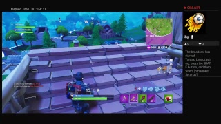 Playing fortnite with the worst ps4 player out here