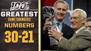 100 Greatest Game Changers: Numbers 30-21 | NFL 100