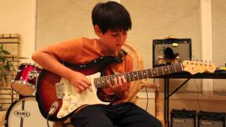 11 YEAR OLD COVERS Pretty Little Ditty RHCP