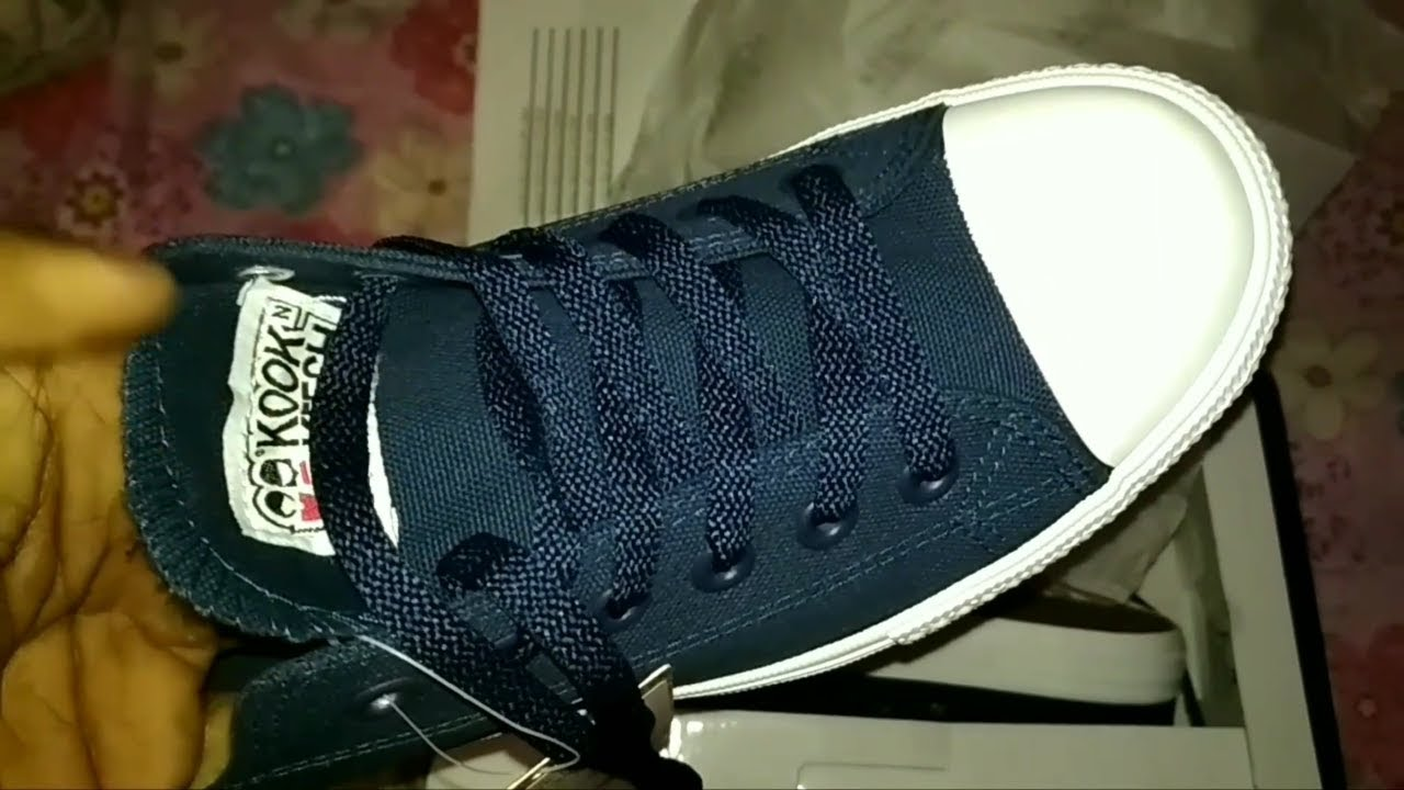 5c4e59c6983 Mens casual sneakers from kook n keech.. unboxing.... - YouTube