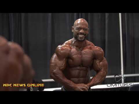 2019 Men's 212 Bodybuilding  Olympia Pt.2 Backstage Video