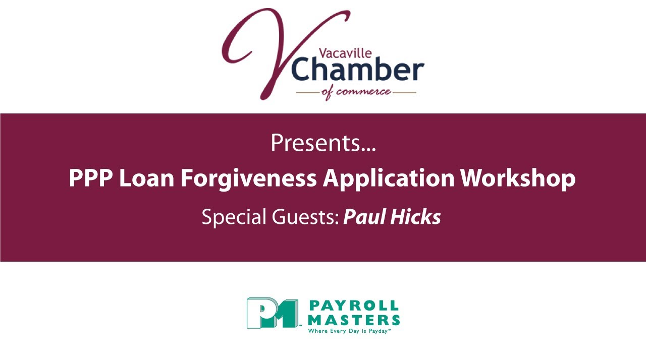 PPP Loan Forgiveness Application Workshop - YouTube