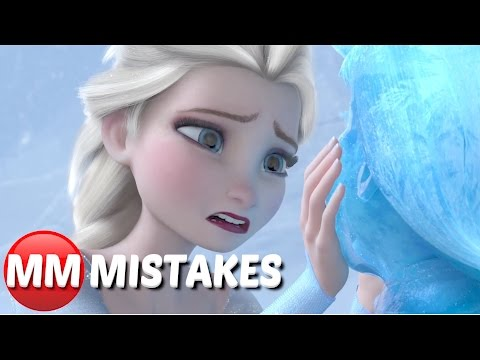 10 MOVIE MISTAKES Disney Didn't See w/ Frozen, Zootopia, The Incredibles, Mulan - MOVIE MISTAKES