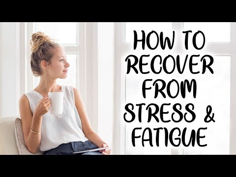 Fatigue, Sleep & Recovery from Stress | Thyroid, Adrenal, Hormone Balance,